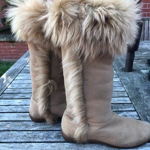 DKNY Fur Lined Convertible Boot